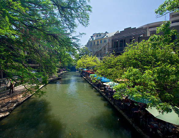 Th River Walk - San Antonio, TX