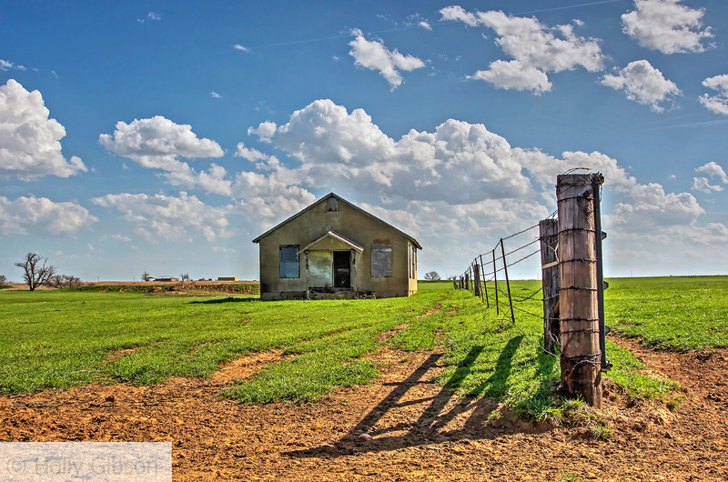 Old barn in Texas hill country