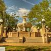 Fountain - Paris, Texas Town Square
