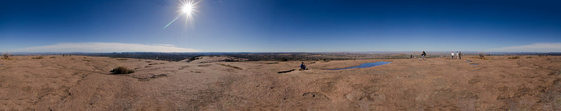 360 Panorama from the top of Enchanted Rock