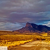 Guadalupe Peak from the old highway, heading to Carlsbad, NM from El Paso, TX