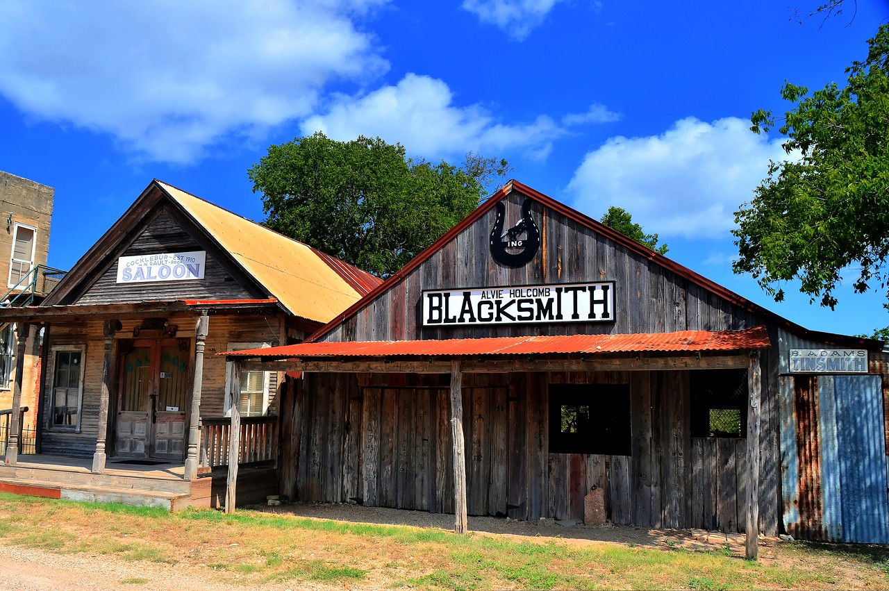 Blacksmith at The Grove, Tx