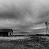 Abandoned Farm and Thunderstorm, Landergin, TX