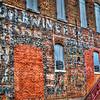 Brick wall at Hillsboro Texas #3