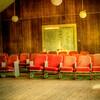 Interior of Baptist Church at Meridian Texas