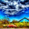 Abandoned Volkswagen Karmen Ghia at Ireland Texas #1
