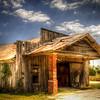 Abandoned garage at Ireland Texas #1