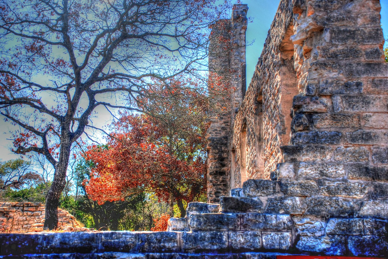 Ruins of Salado College
