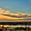 Sunset at Marble Falls, 2014, #4