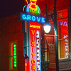 Grove Drug Store on Sixth Street in downtown Austin Texas