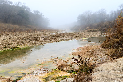Foggy Morning on the San Gabriel River