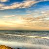 Copano Bay at Rockport Texas at Sunrise