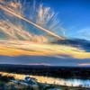 Sunset at Marble Falls, 2014, #5