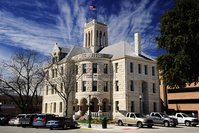 Comal County Courthouse in New Braunfels, Texas