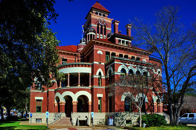 Gonzales County Courthouse in Gonzales, Texas