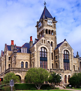 Victoria County Courthouse in Victoria, Texas