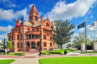 Hopkins County Courthouse;  Sulphur Springs, Texas