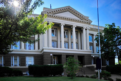 Back View of Courthouse