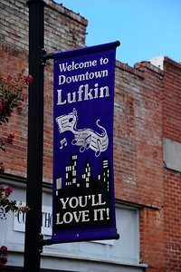 Welcome to Downtown Lufkin Banner