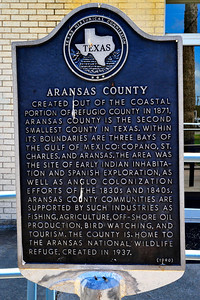 Texas Historical Commission Marker:  Aransas County
