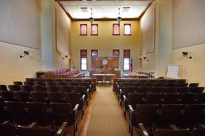 Courtroom with High Ceiling