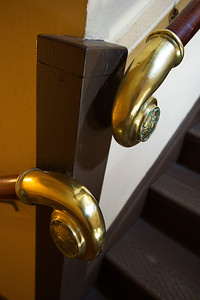 Interior Details:  Hand Rail Brass Fitting