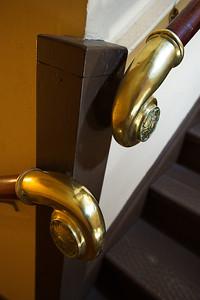 Interior Details:  Hand Rail Brass Fitting