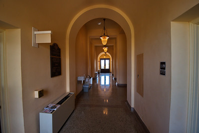 Interior Hallway of the Courthouse