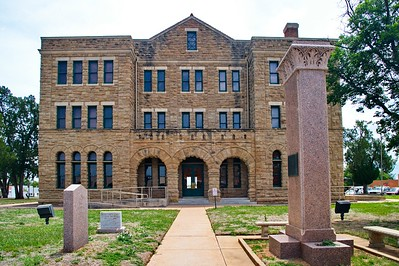 Front View of the Courthouse