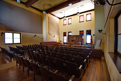 Courtroom, Archer County Courthouse
