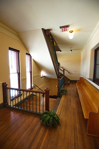 Second Floor Interior View of the Courthouse