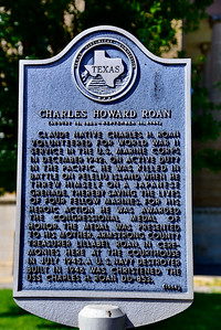Texas Historical Commission Marker:  Charles Howard Roan