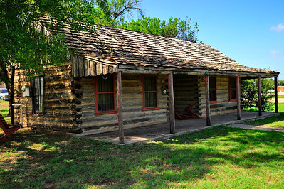 Original 1856 Log Courthouse (replica) Atascosa County