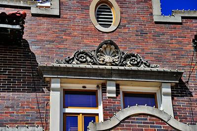 Exterior Details above the Windows