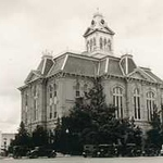 Austin County Courthouse that Burned Down
