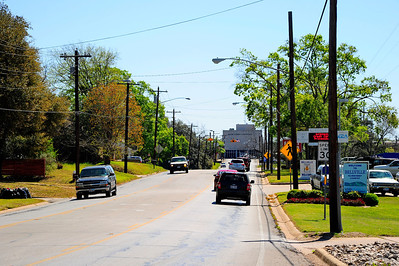 Austin County Jail Street View Several Blocks Away