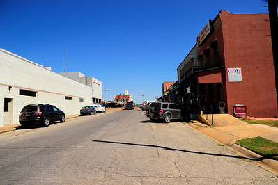 Around the Courthouse in Downtown Bellville