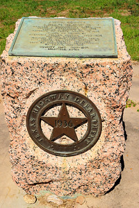 Texas Highway Department 1936 Historical Marker for Austin County
