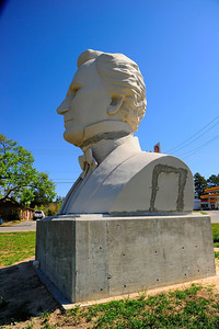 Stephen F. Austin Statue in Bellville, Texas