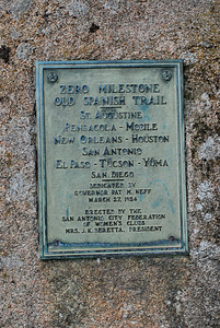 Old Spanish Trail Marker