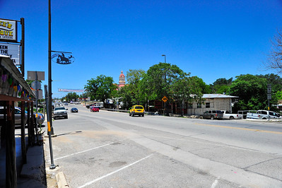 Street View of the Courthouse in Bandera