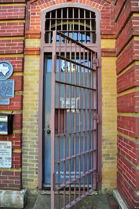 Jail Doorway; Bastrop County