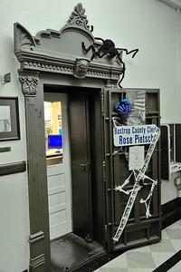 Bastrop County Clerk Office and Vault Door