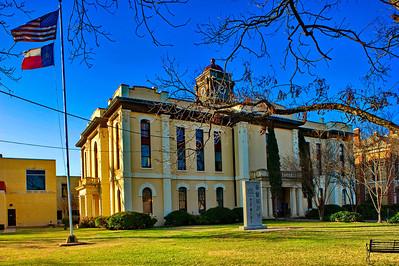 Bastrop County Courthouse:  Bastrop, Texas