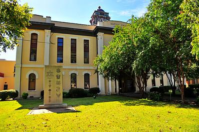 Veterans Memorial, Bastrop County Courthouse