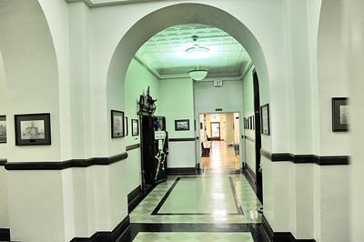 Interior Hallway Courthouse