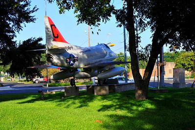 US Navy Skyhawk Jet