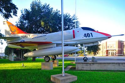 US Navy A4 Skyhawk Jet Fighter