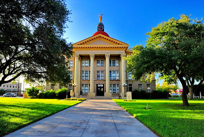 Bee County Courthouse; Beeville, Texas