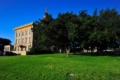 Courthouse Grounds and Pecan Trees